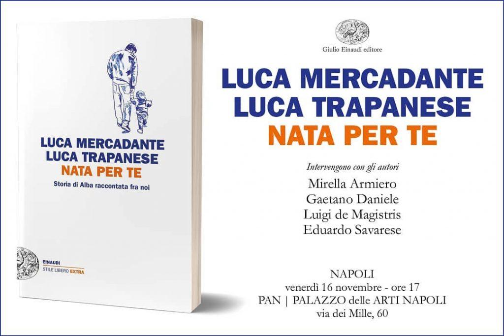 """O livro """"Nascida Para Ti"""", escrito por Luca Mercadante e Luca Trapanese"""